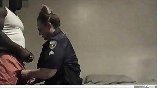 Inky Cocks Matter: Police Officer Fucks Also gaolbird