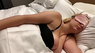 Milf stepmother and son fuck in tourist house room
