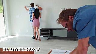 Sneaky Sex - (Lucas Frost, Alex Coal) - Cum In Handy - Reality Kings